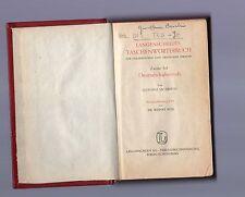 dizionario tascabile tedesco-italiano  1960 -