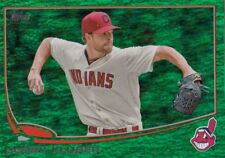 2013 Topps Update COREY KLUBER Emerald Foil Rookie Indians #US105 QTY Avail
