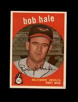 1959 Topps Baseball #507 Bob Hale (Orioles) NM