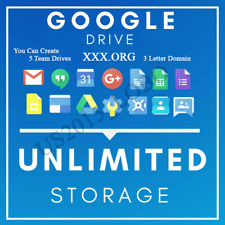 GSuite Unlimited Google Photos, Google Drive unlimited, Lifetime Custom Username