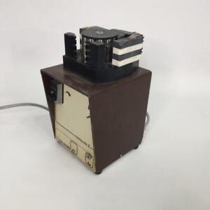Peristaltic Pump Gilson Minipuls 2 with 4 Channel Head not Watson Marlow