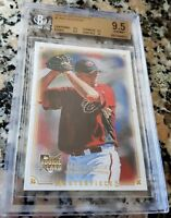 MAX SCHERZER 2008 Upper Deck Rookie Card RC BGS 9.5 10 HOT 3 CY 2 No Hitters $$$