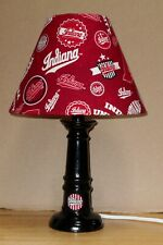 NCAA Indiana Hoosiers Home State Lamp & shade Handmade  Logo 15/16