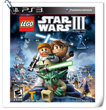 PS3 LEGO Star Wars III SONY PLAYSTATION Action Warner Home Video Games