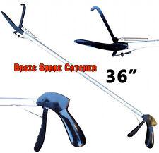 """36"""" Basic SNAKE TONGS Reptile Grabber Rattle Snake Catcher JAW Handling Tool"""