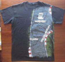 Audi Autobahn Country Club Joliet, IL Auto Racing Graphic T-Shirt Size XL Black