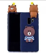 Cute 3D Bear Case for Samsung Galaxy s9