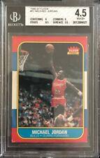 1986-87 86 Fleer Michael Jordan Rookie #57 BGS 4.5 VG-EX+