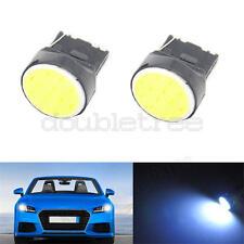 4PCS White T20 7443 W21/5W COB 12SMD Auto Car Signal  stop  Reverse Led Lights