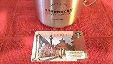 $4* STARBUCKS Germany Limited Release OOP BERLIN Gift Card US Seller!