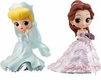 Q posket Disney Character Dreamy Style Figure Set Cinderella Bell BANDAI JAPAN