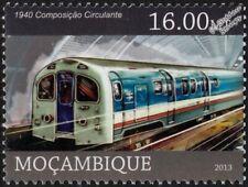 LONDON UNDERGROUND Waterloo & City (BR) 1940 Tube Stock Train Stamp (2013)