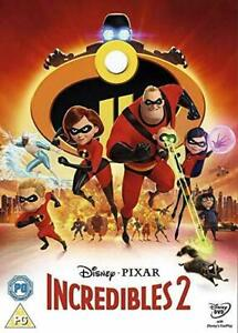 Incredibles 2 (DVD, 2018) NEW