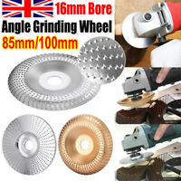 100mm Carbide Wood Sanding Carving Shaping Disc For Angle Grinder Grind Wheel !