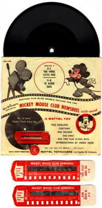 Mickey Mouse Club Newsreel, Series F, Complete, ca 1955