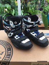 Powerslide Hardcore Evo Inline Skates Size Uk 4-4.5 Boots Only