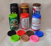 Soda Can Lids Silicone Food Grade Pop Beer Cans Lid Dustproof Kitchen Drinkware