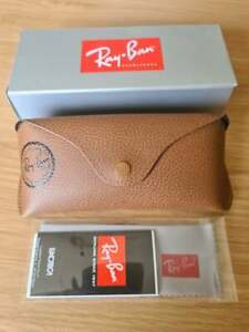 Ray Ban Brown Sunglasses Case and Cloth Box Not Inclusded