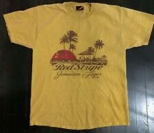 Red stripe beer t shirt
