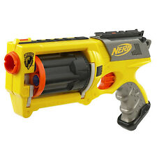 Pre Owned Nerf Maverick Rev-6.  MISSING THE Darts.  See Pictures.