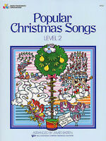 Popular Christmas Songs Level 2 Piano Sheet Music Mixed Songbook