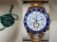 Rolex Oyster Perpetual Yacht-Master II in 18 ct yellow gold 2018 Full set 116688