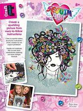Sequin Art Flower Girl, Brand New
