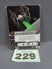 Wargaming X Wing Alt Art Promo 2013 Black Squadron Pilot Card 229