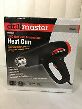 Drill Master Heat Gun 1500 Watt Dual Temperature 120 Volts NEW