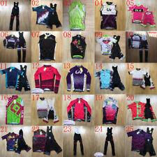 2020 Women summer Sale Bike Cycling Jersey Set New Bicycle Shirt bib Pants Suit
