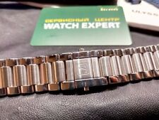 Brand New EXTRA RARE Solid Stainless Steel Watch Bracelet 20mm FIT Ulysse Nardin
