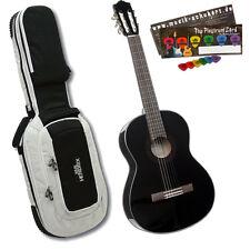 Akustik Konzertgitarre Yamaha C40 Black + PlektrumSet , Deluxe Gitarrentasche