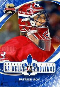 2011-12 Between The Pipes #186 Patrick Roy