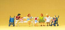 "Preiser 10522 H0 Figuren ""Sitzende Frauen, Kinderwagen""  #NEU in OVP##"