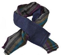 100% Wool Tartan Plaid Pashmina Cashmere Scarf Shawl Wrap Handmade Nepal Unisex
