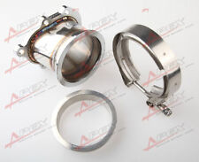 """GT25R GT28R 5 BOLT To 3"""" INCH V-BAND VBAND CLAMP FLANGE DOWNPIPE ADAPTER KIT"""