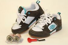 Heelys Youth Girls 4 / Boys 3 34 NEW Skate Sneakers Shoes +Wheels & Tool 9173 os