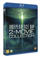 Independence Day 1-2 Box  (Region Free) Blu Ray