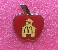 Pins MAC DO POMME Apple McDo McDonald's McDonalds Crew Lapel Pin Vintage Clown