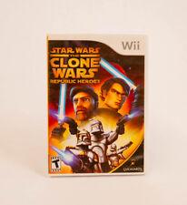 Star Wars: The Clone Wars - Republic Heroes (Nintendo Wii, 2009)