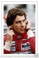 Ayrton Senna 6x4 PHOTO PRINT FORMULA ONE F1