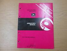 John Deere 33G & 44G Gas Grills Operators Manual Part No. Omty3949 Issue J9
