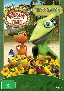 Jim Henson's Dinosaur Train - Tiny's Garden (DVD, 2012) NEW SEALED R4
