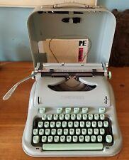 1962 Hermes 3000 Typewriter & Original Manual British Pound