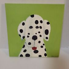 Oopsy Daisy Fine Art For Kids Room Max Grover Dog Dalmatian Canvas Painting Baby