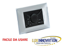 TERMOSTATO INCASSO VIMAR BTICINO AMBIENTE INCASSO 503 ANTRACITE NERO termostato