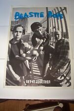 Rare Large 25x35 Beastie Boys Get It Together Poster Printed in Great Britain