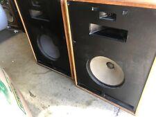 Klipsch Cornwall speakers