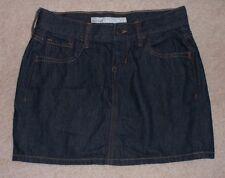 OLD NAVY Jean Mini Skirt, Dark Blue Denim, Women's 0