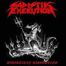"Sadistik Exekution / Doomed And Disgusting ""Sadistikly Disgusting.."" - 7""EP"